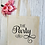 Thumbnail: The Party Hen Party Canvas Classic Shopper