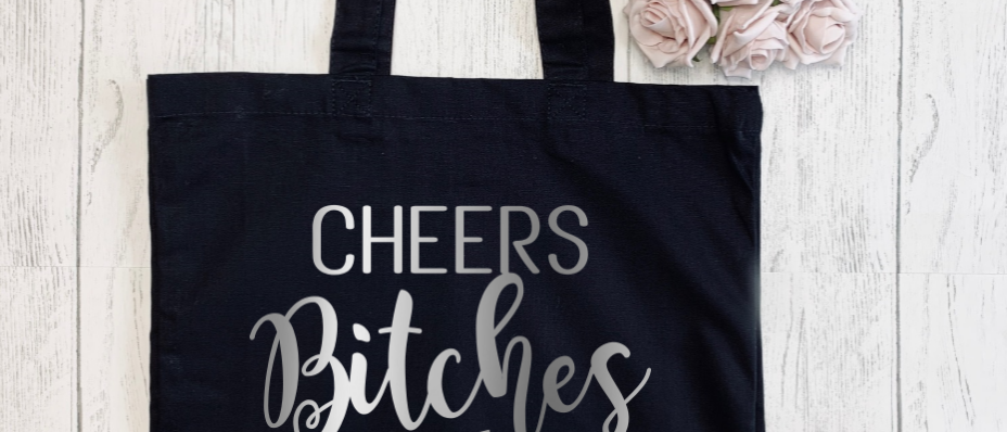 Cheers Bitches Canvas Classic Shopper