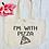 Thumbnail: I'm With Pizza Organic Marina Tote