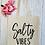 Thumbnail: Salty Vibes Canvas Classic Shopper