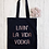 Thumbnail: Livin' La Vida Vodka Canvas Classic Shopper