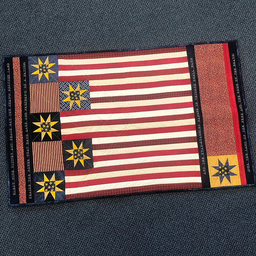July 2021 - Flag Quilt Donation - 3 Slots