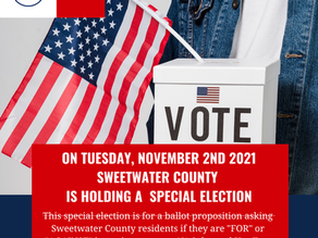 """Vote """"AGAINST"""" Ballot Proposition """"Sales and Use Tax Question"""" on November 2, 2021"""