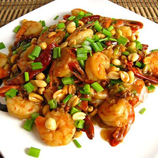 1621231269_Shrimp Kung Pao on Serving Pl