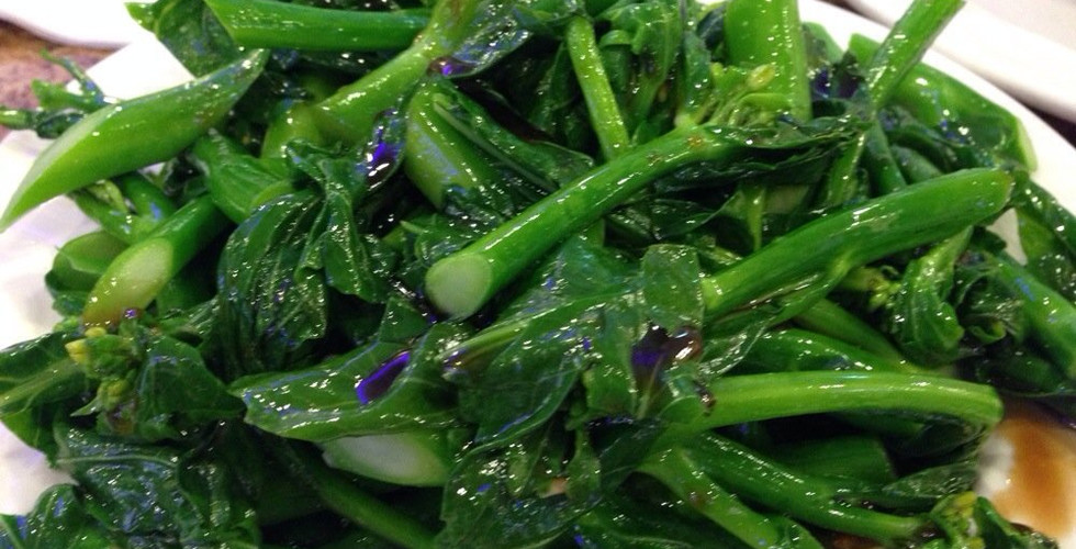 Chinese broccoli in oyster sauce.jpg