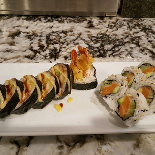 lobster tempura roll And Alaska.jpg