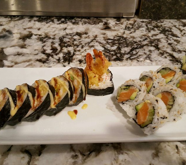 lobster tempura roll And Alaska.jpg