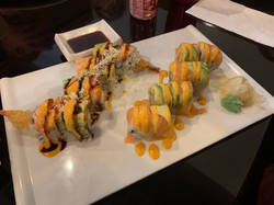red 88 sushi rolls