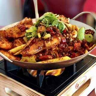 Shrimp in dry hot pot.jpg