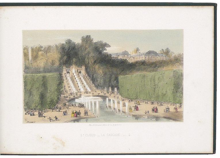 Le Touriste en chemin de fer, ca. 1850, with 22 hand-coloured lithographs