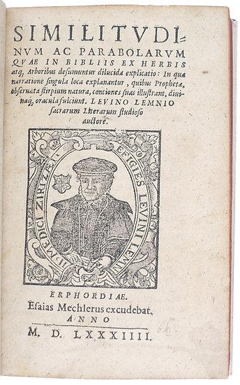Biblical botany, 1584