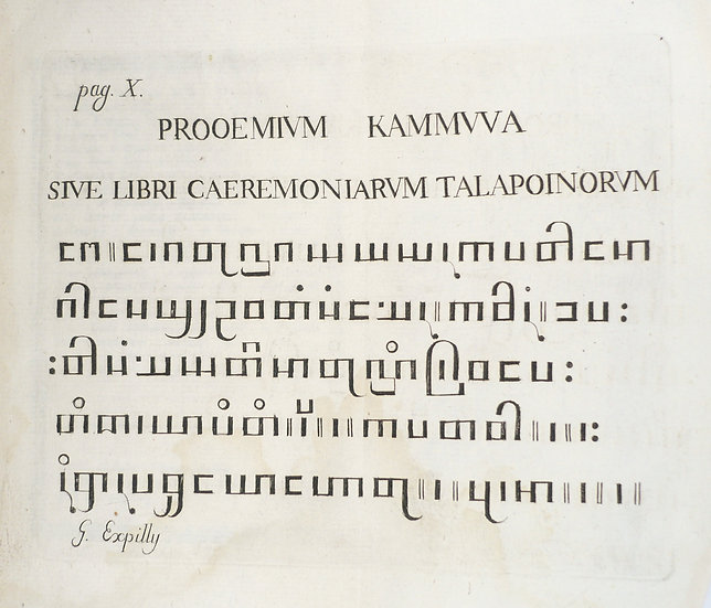 The first book to feature Burmese type
