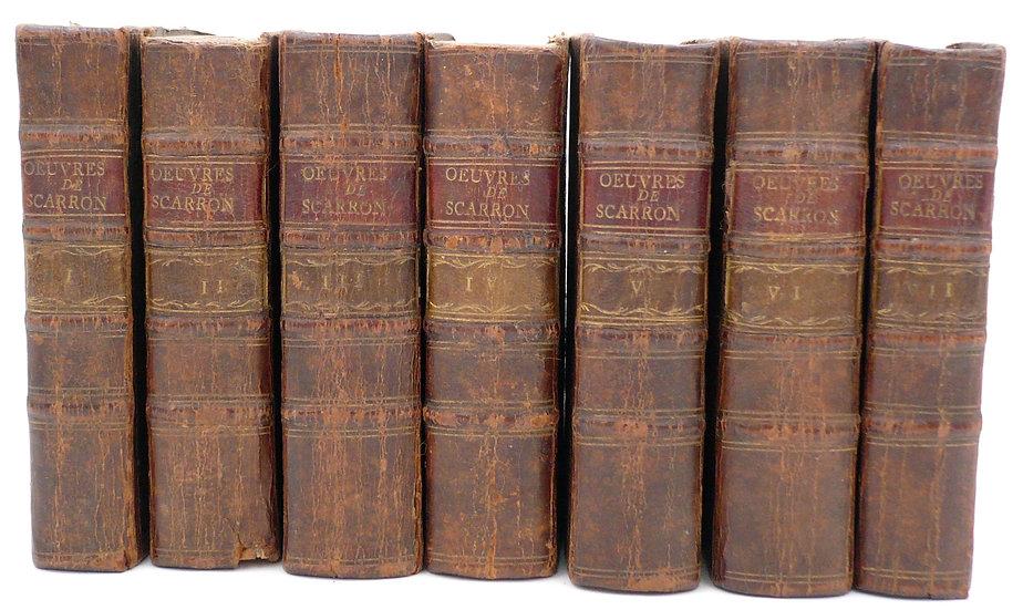 Paul Scarron.Oeuvres. Nouvelle édition. Amsterdam, 1752