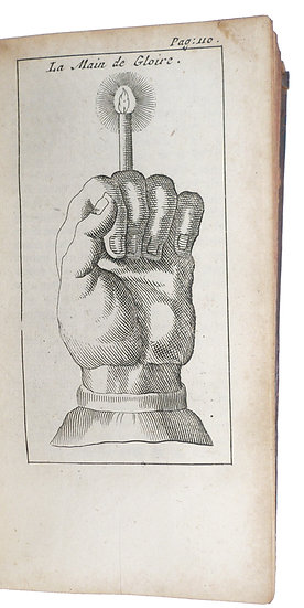 Influential grimoire with 10 (folding) plates