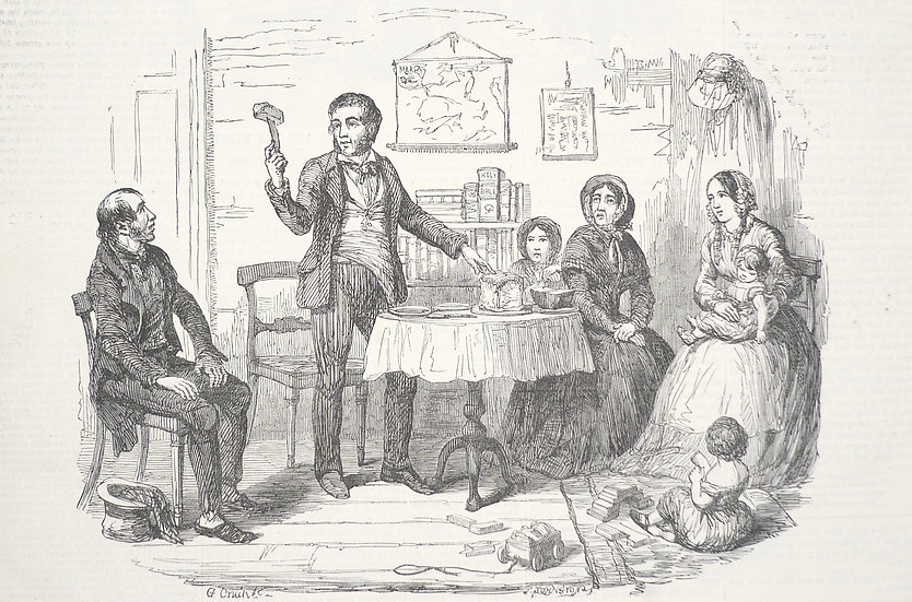 The British Workman, 1855-1864, illustrated by George Cruikshank and others