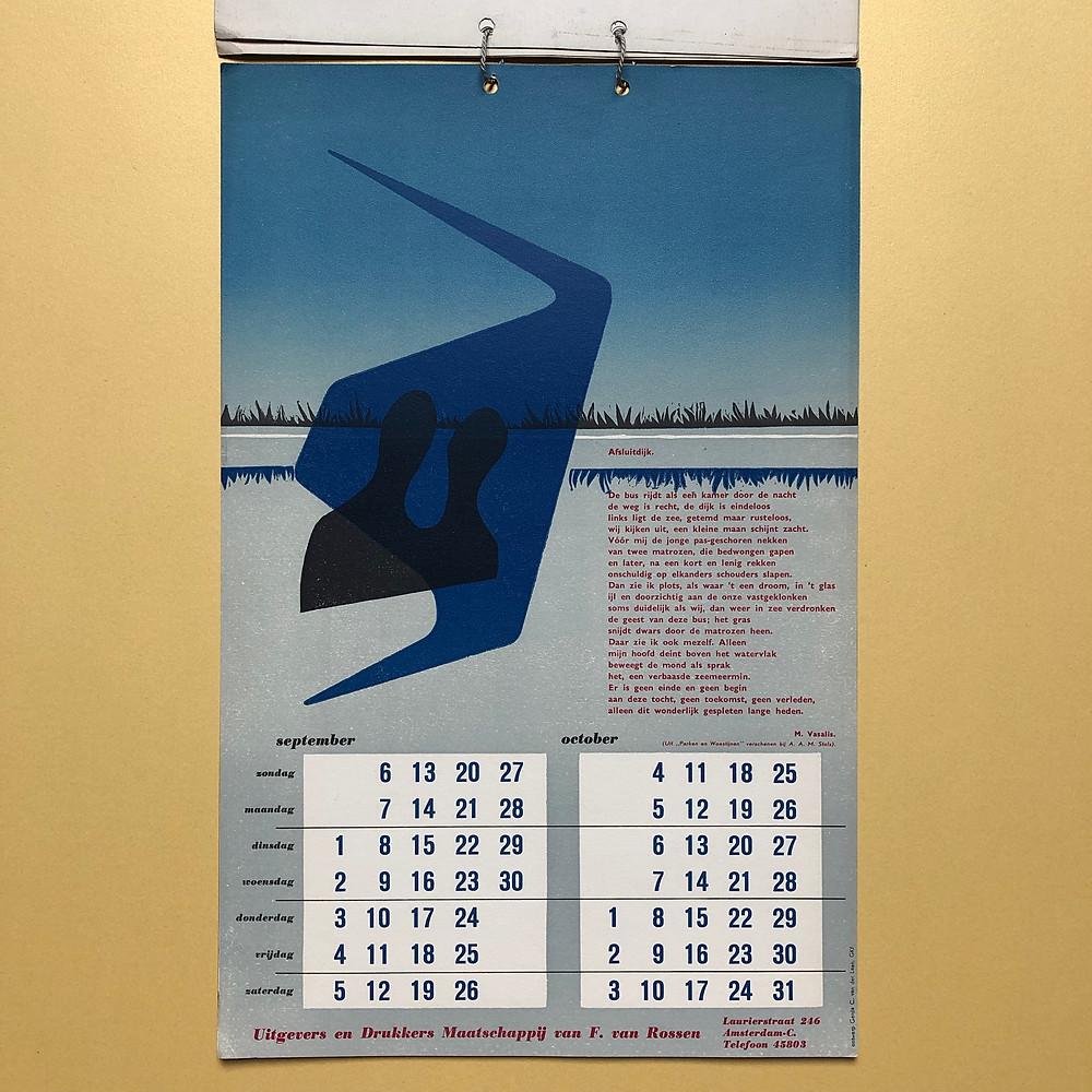 Kalender Frans de Jong