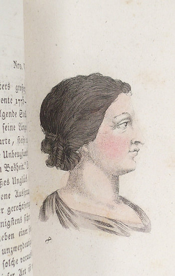 A popular introduction to female physiognomy, 1815, with 30 hand-coloured plates