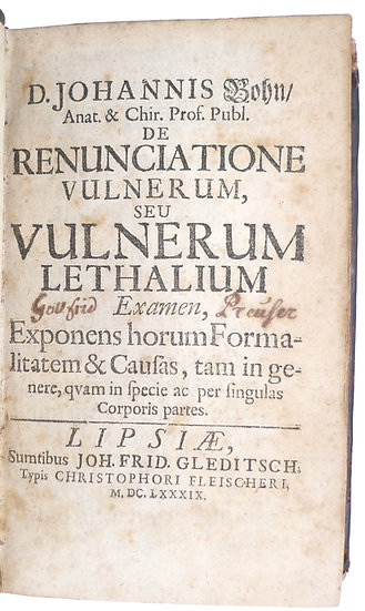 First edition of a foundational work of forensic medicine