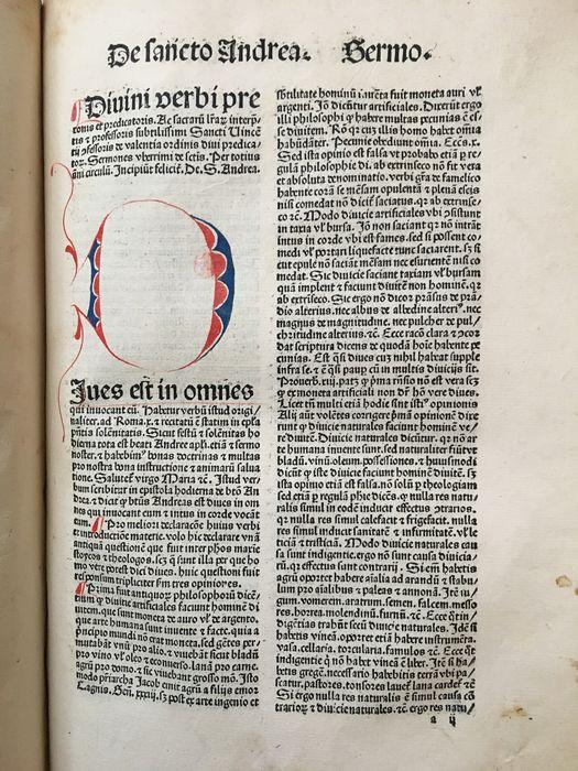 St. Vincentius Ferrerius, Sermones de tempore et de sanctis, 1487