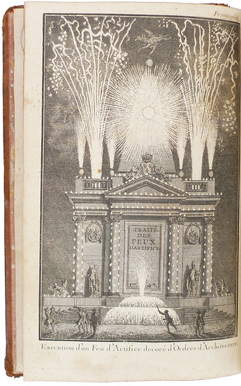 Enlarged edition of Frezier's influential fireworks manual, 1747, with 13 plates