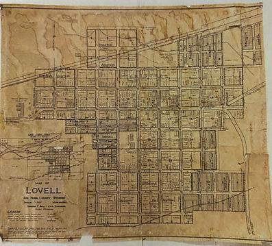 Map of Lovell
