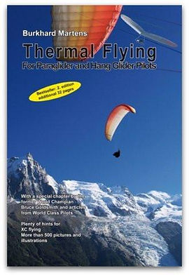 Thermal Flying book Burkhard Martens recommended reading paragliding hang gliding