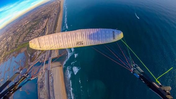 Birthday Flight over Ocean