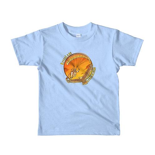 """""""Fly Like an Eagle"""" Short sleeve kids t-shirt"""