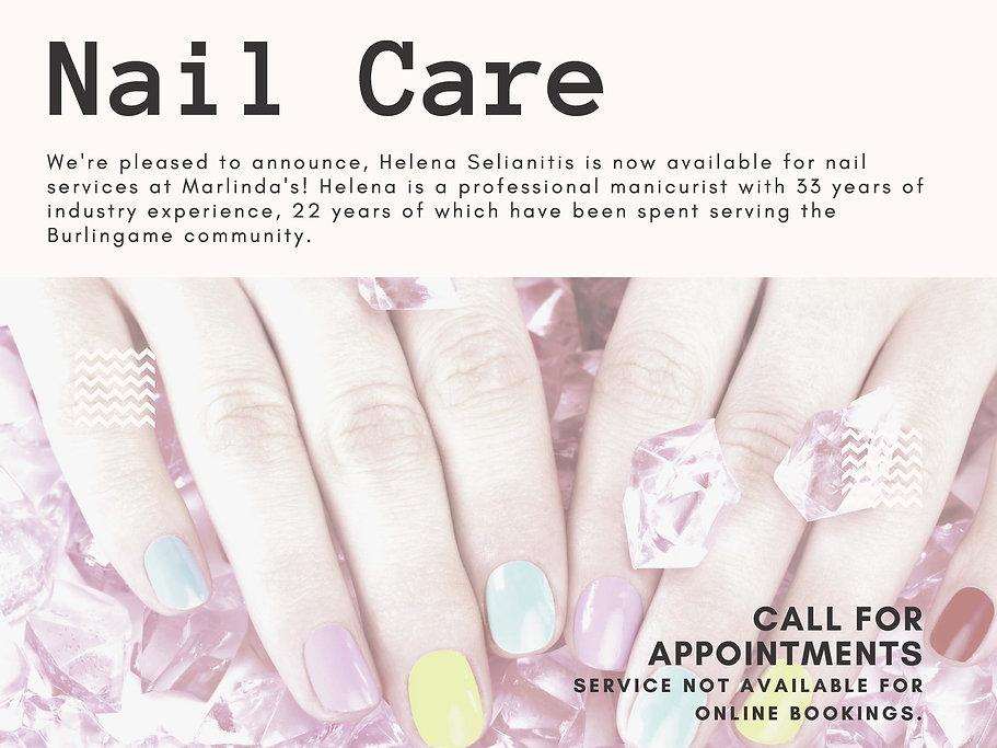 Marlindas - Nail Care - Helena Website F