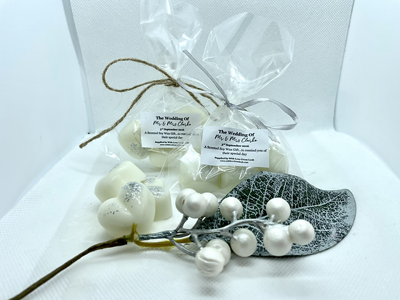 Wedding Favour / Table Favour Soy Wax Melts