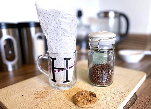 Personalised Glass Mug