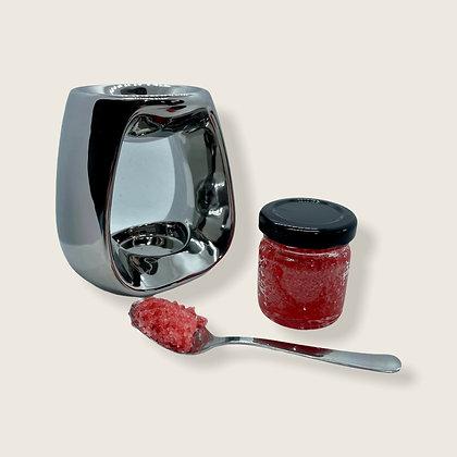 Cashmere & Musk Scented Crystal Jar