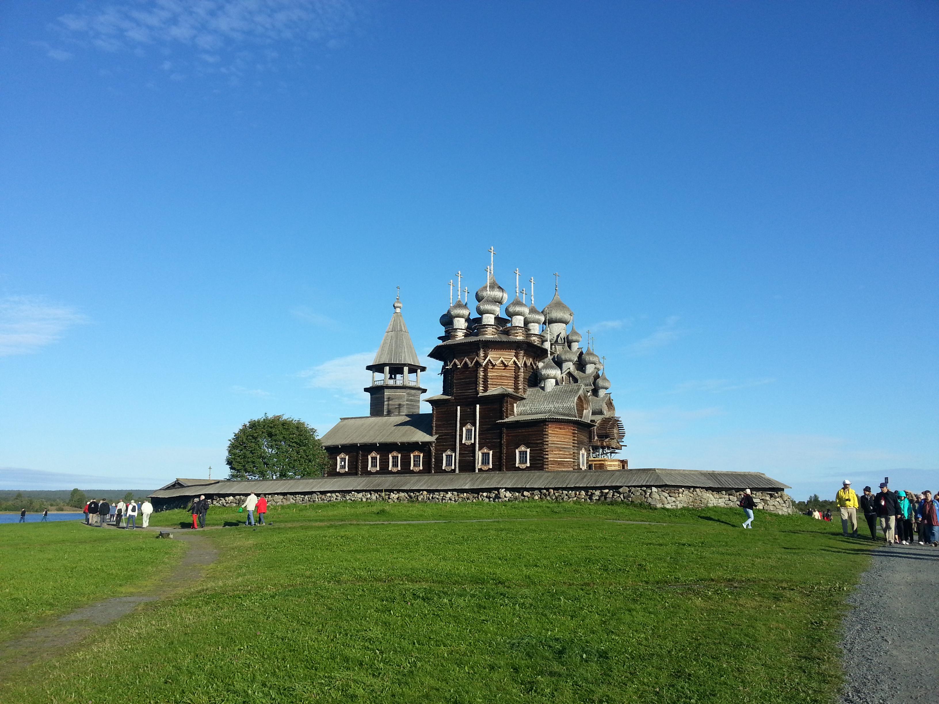 Kizhi.Russland