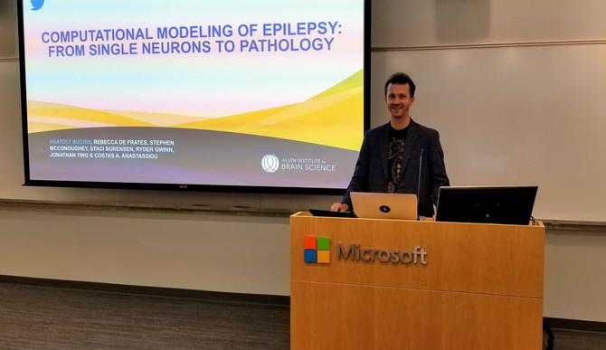Human epilepsy at Microsoft