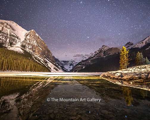 Lake Louise Under the Stars