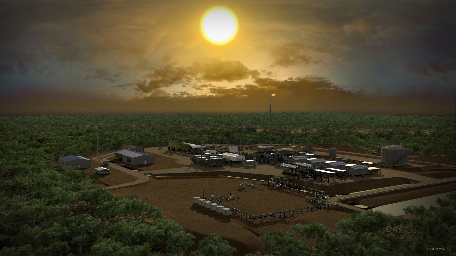 stanley-facility-sunset