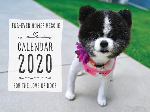 Pre-sale of the 2021 Fundraising Calendar