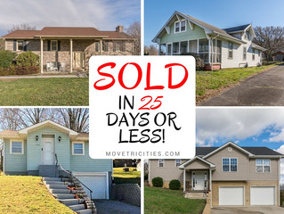 These homes SOLD in 25 days or less!