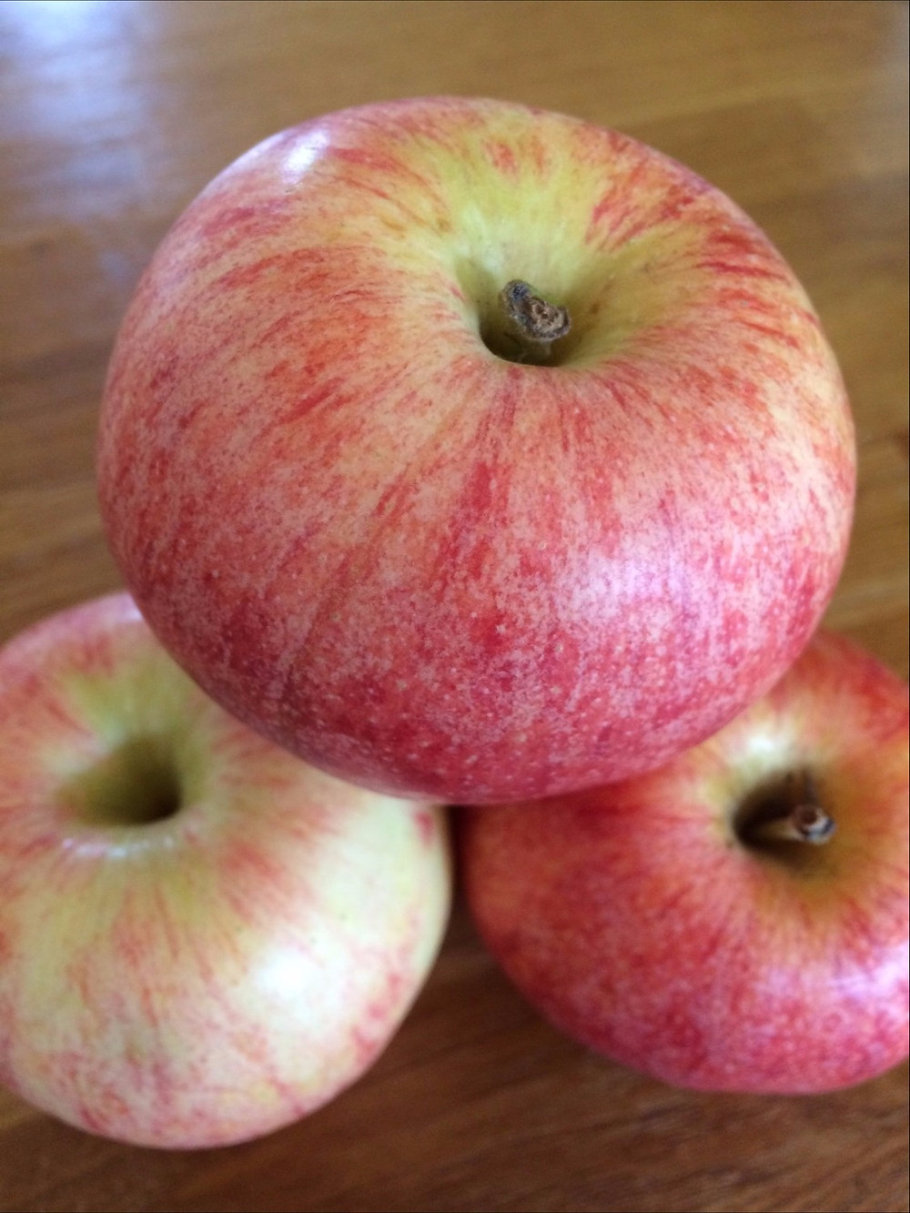 Apples without packaging - the more sustainable option