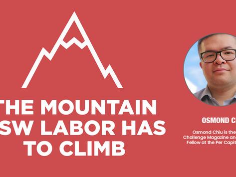 The Mountain NSW Labor has to Climb