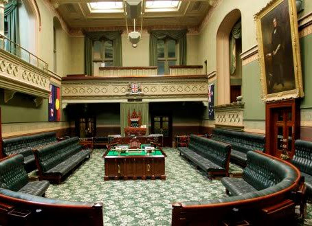 Is parliamentary democracy an essential service?