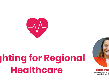 Fighting for Regional Healthcare