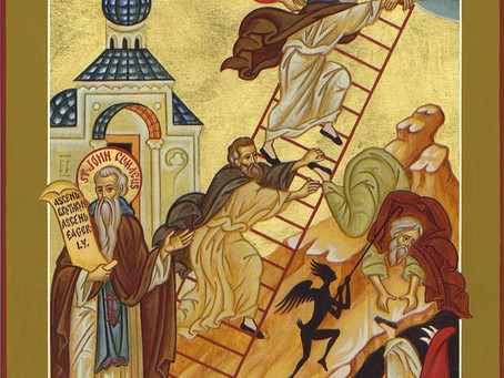 "Climb the Ladder by Faith and Hope - It is The Way. (""Religiosity"" is not the way to Christ)."