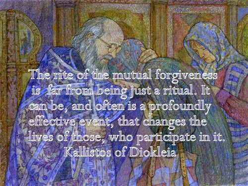 Forgiveness Sunday