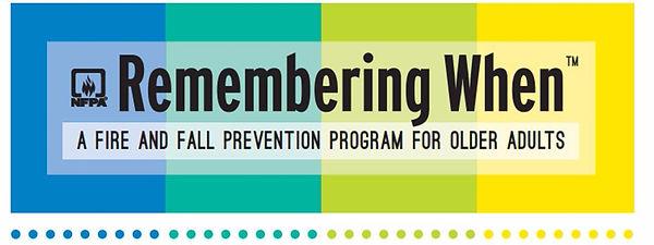 NFPA Remembering When logo