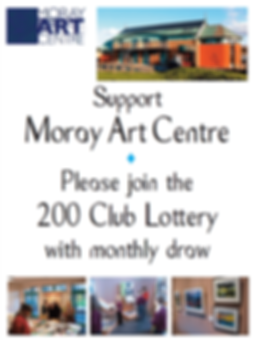 200 Club Lottery - Moray Art Centre