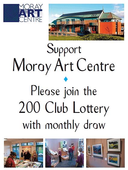 200 Club Lottery - Moray Art Centre
