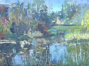 Landscape at Dallas Lodge, oil copy.JPG