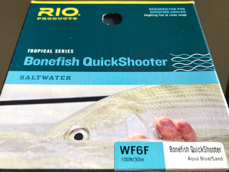 WF6F RIO Bonefish Quickshooter Fly Line Review