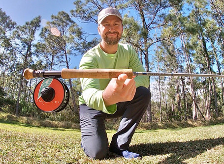 Balancing a Fly Rod and Reel